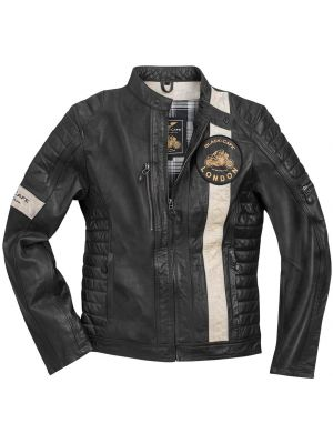 Black-Cafe London Paris Motorrad Lederjacke
