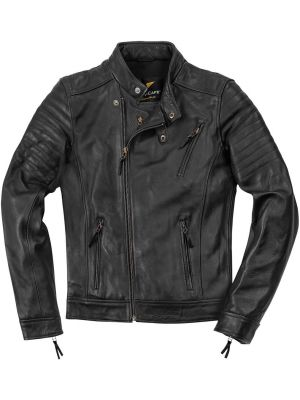 Black-Cafe London Malayer Motorrad Lederjacke