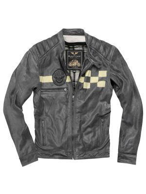 Black-Cafe London SevenT Motorrad Lederjacke