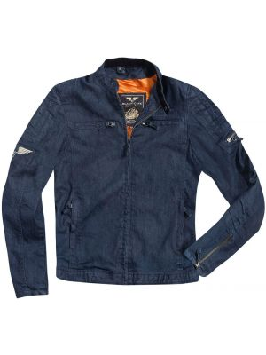 Black-Cafe London Hudson Motorrad Textiljacke