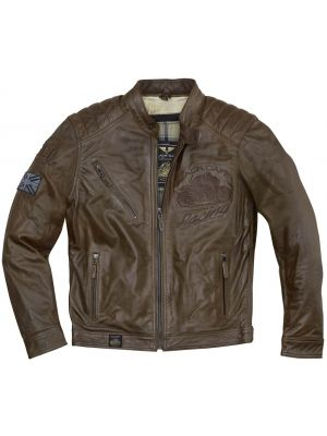 Black Cafe London Houston Motorrad Lederjacke